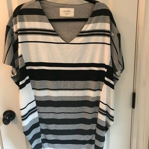 Anthropologie Puella grey knit tunic size M